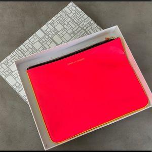 Comme Des Garçons - Super Fluo Leather Wallet